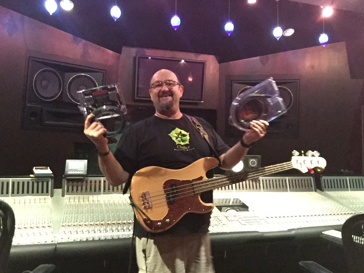 Bill Kaylor of Chalice Studios with Mogami Cable