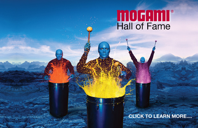 World famous Blueman group